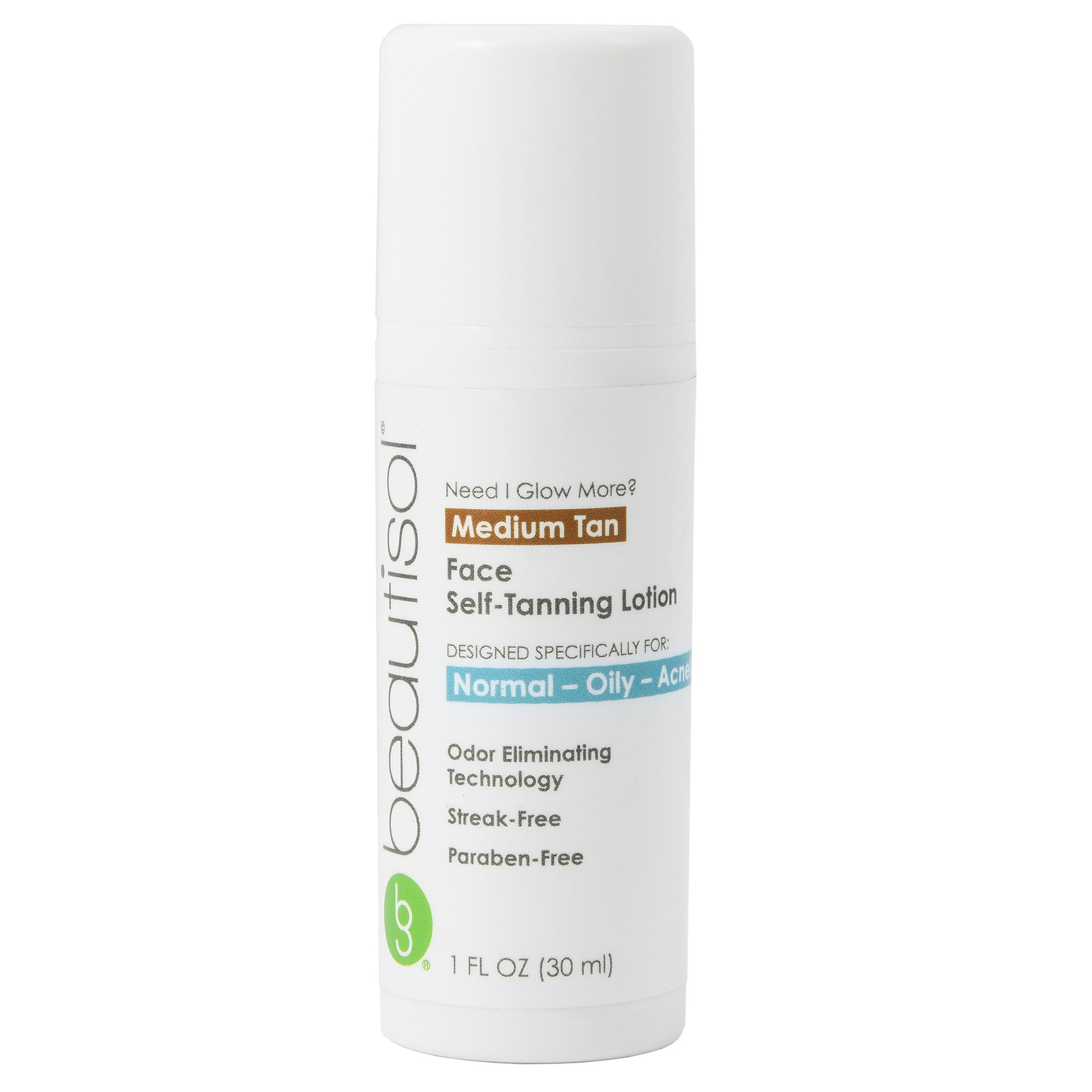 Beautisol Need I Glow More? Sunless Face Tanner for Oily Skin, 1 Ounce by Beautisol