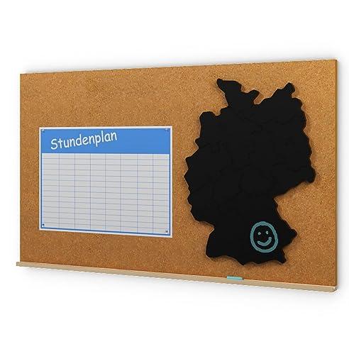 Pinnwand Phil Kork Deutschlandkarte Tafel