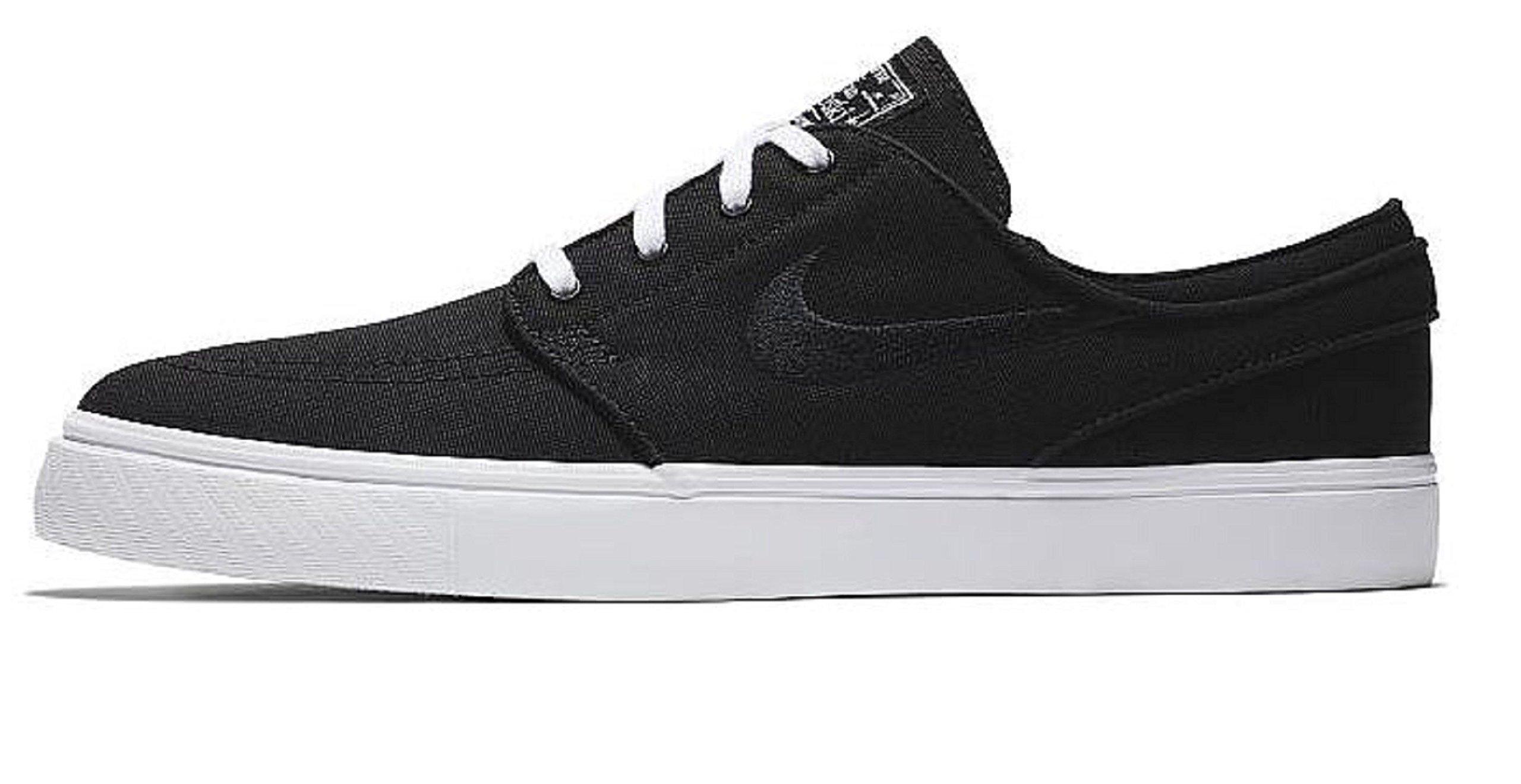 newest 82288 9cfef Galleon - NIKE Zoom Stefan Janoski CNVS Mens Skateboarding-Shoes  615957-022 11.5 - Black Black-White