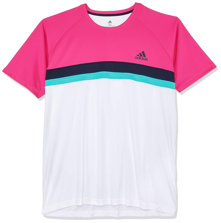 Adidas Herren Club Farbeblock Kurzarm T-Shirt T-Shirt T-Shirt B07DQQP71R T-Shirts Qualifizierte Herstellung f76683