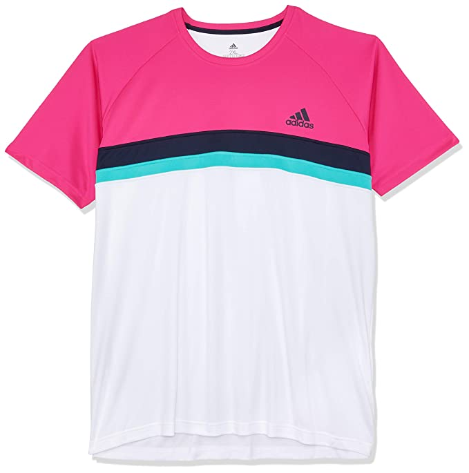 adidas Colorblock Club Camiseta, Hombre