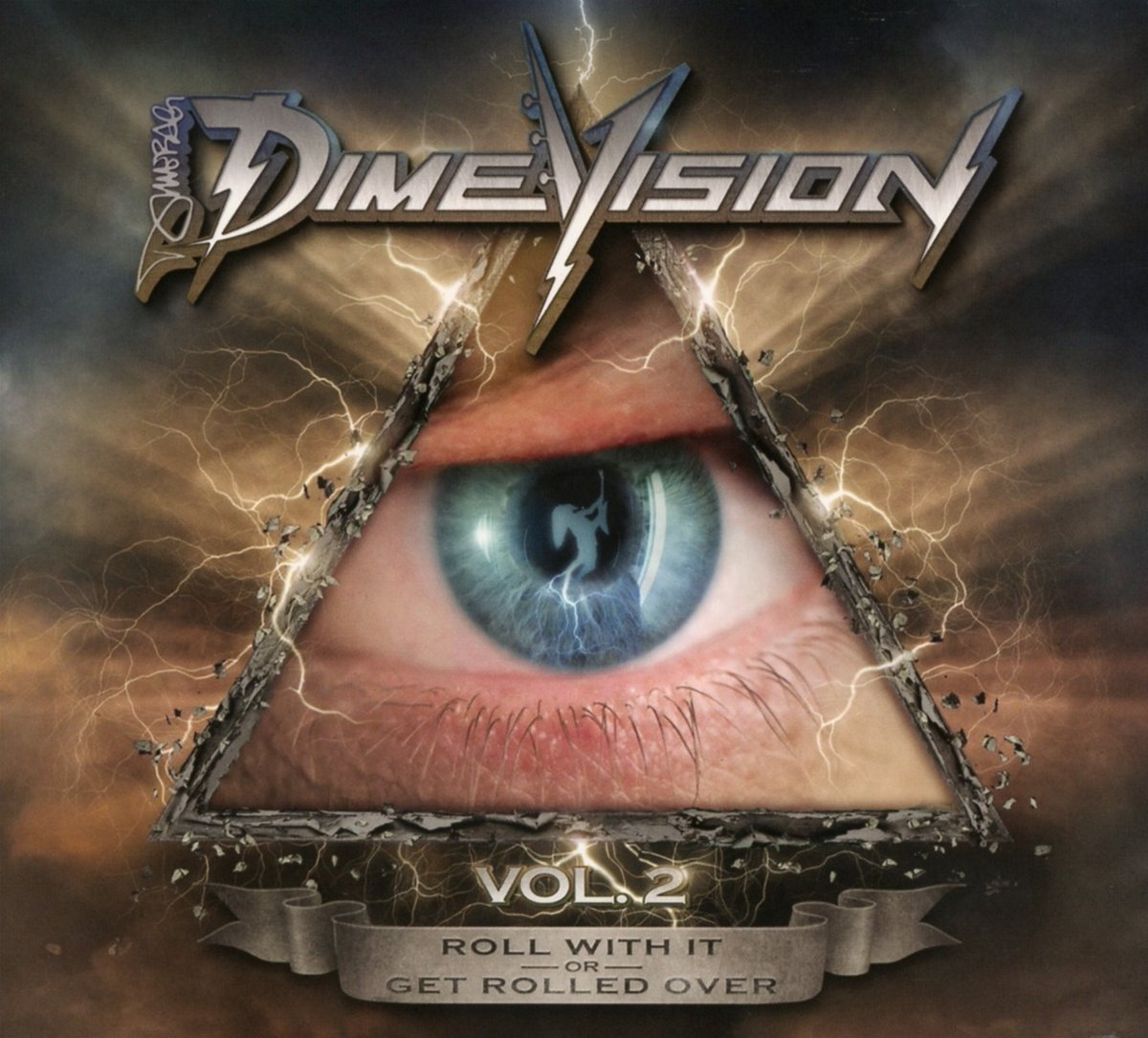 DVD : Dimebag Darrell - Dimevision, Vol. 2: Roll With It Or Get Rolled Over (With CD, 2 Disc)