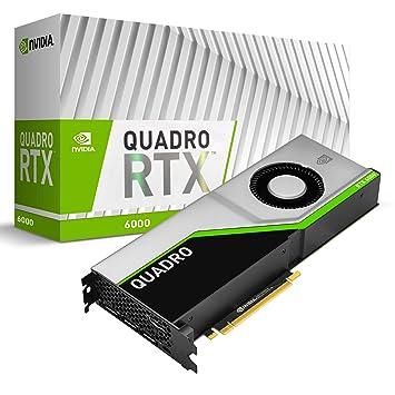 PNY VCQRTX6000-PB - Tarjeta gráfica (Quadro RTX 6000, 24 GB ...