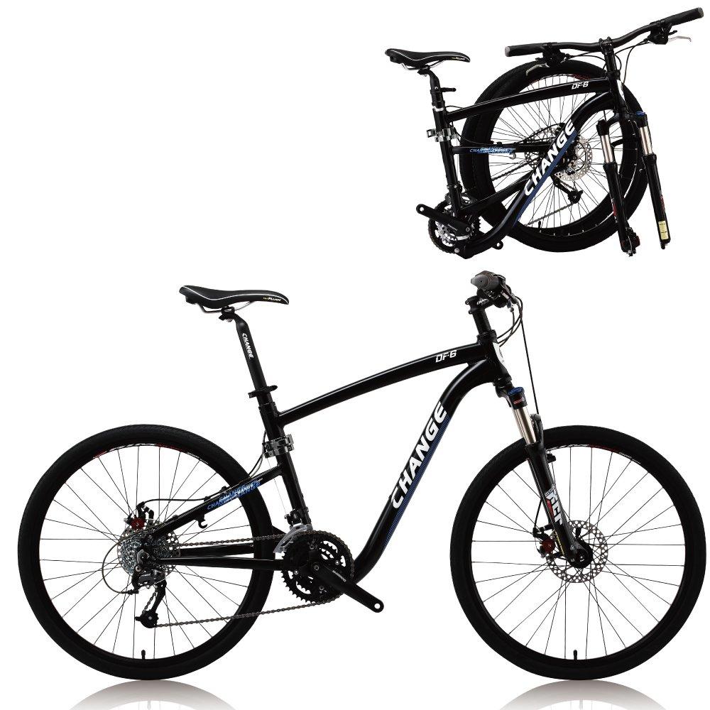 Change la bici plegable de la montaña de 26 pulgadas de tamaño ...