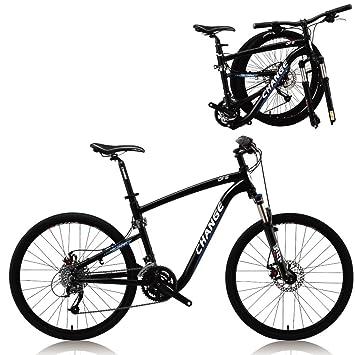 Change la bici plegable de la montaña de 26 pulgadas de tamaño completo Shimano 27 velocidades