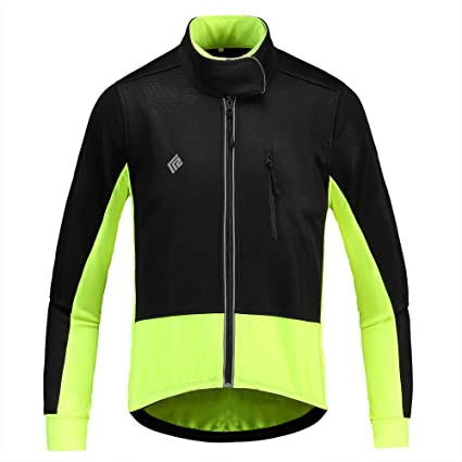 Men/'s Cycling Jacket Windbreaker Coat Hi Viz Reflective Jersey Motorcycle Jacket