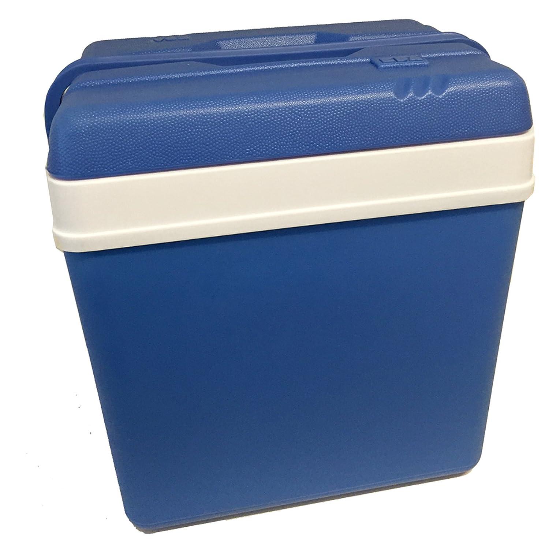 Blau//Weiss K/ühlbox 24 Liter von JEMIDI Isolierbox K/ühl Box Gro/ß in Blau//Weiss K/ühltasche K/ühlboxen