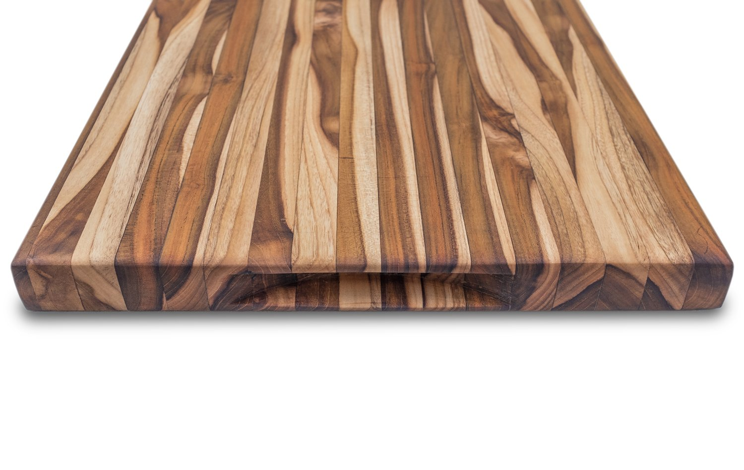 JD&Sons Teak Wood Large Cutting Board Perfect for Home Chefs & Professionals Gentle to Knife Durable Cut Board (20x15x1.5 in.) by JD&Sons (Image #5)
