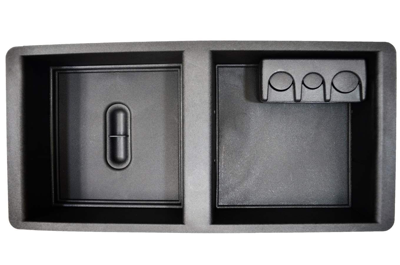 for vehicles with RPO Code D07 5559020210 Center Console Tray Organizer Black PT Auto Warehouse GM-7549A