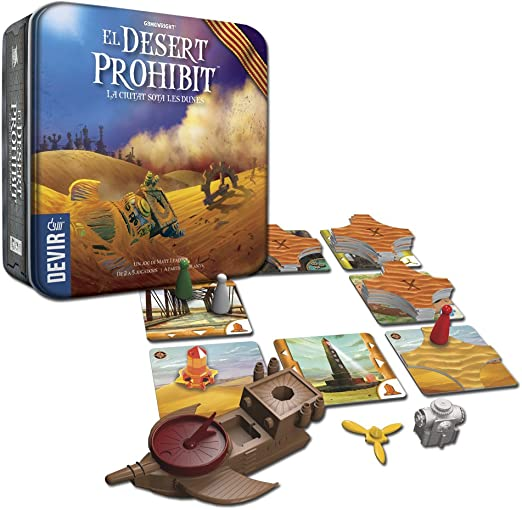 Devir - El Desert Prohibit, Juego de Mesa en catalán (BGDESICAT): Amazon.es: Juguetes y juegos
