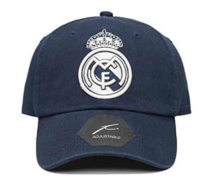6275ce5812aec9 Real Madrid Officially Licensed Classic Dad Hat at Amazon Men's ...