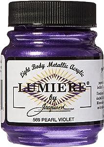 Jacquard Lumiere Acrylic Color, 2.25 oz, Pearlescent Violet