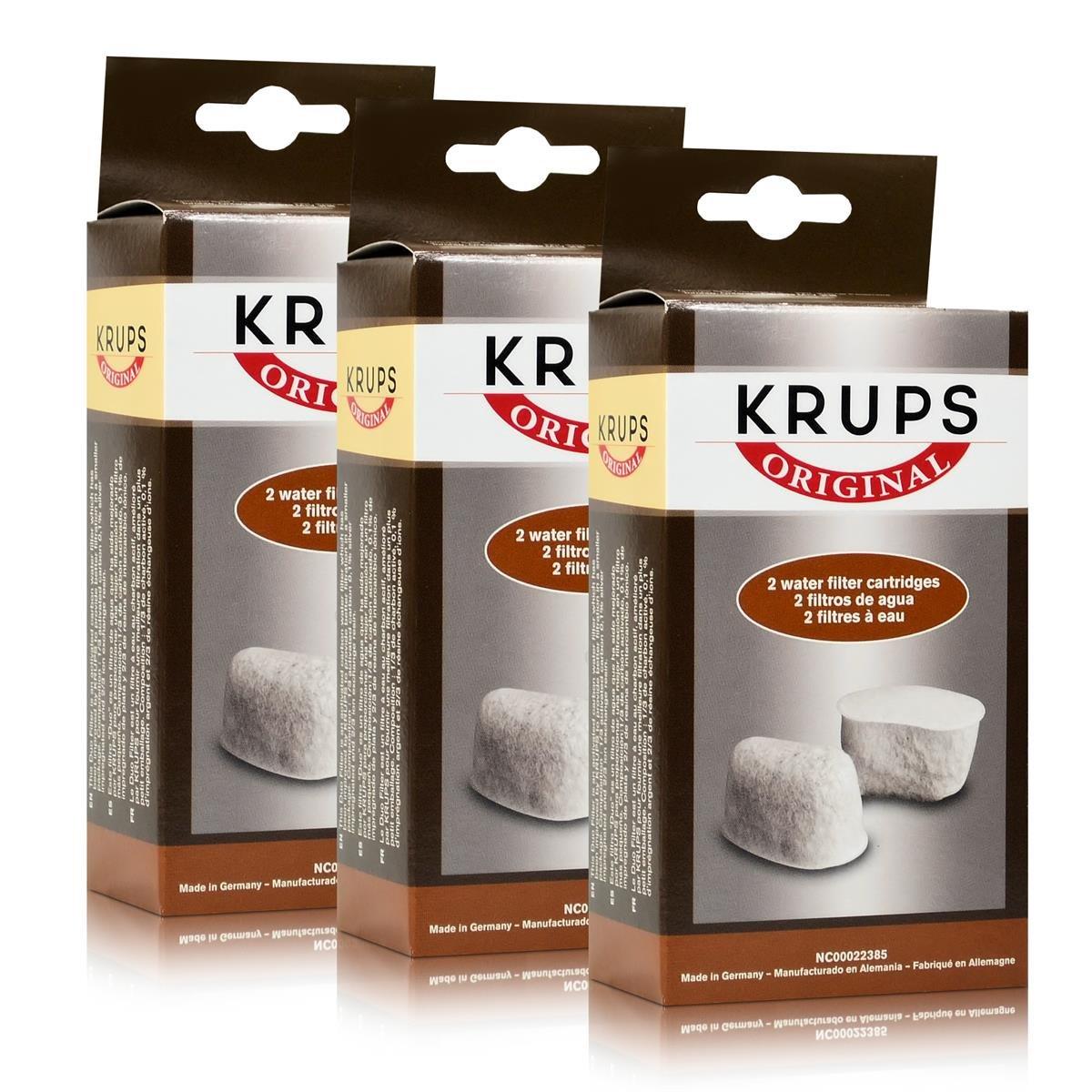 3x Krups F 472 00 Thermo-Kaffeemaschine Duofilter Set ohne Halterung