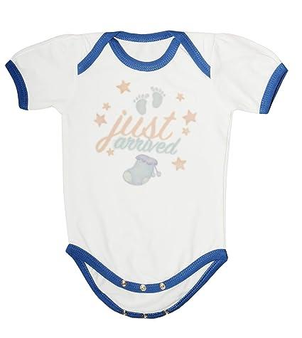 1a4e4c3b9d3e Soft Organic Cotton Babywear White Printed Onesies (Baby Clothing ...