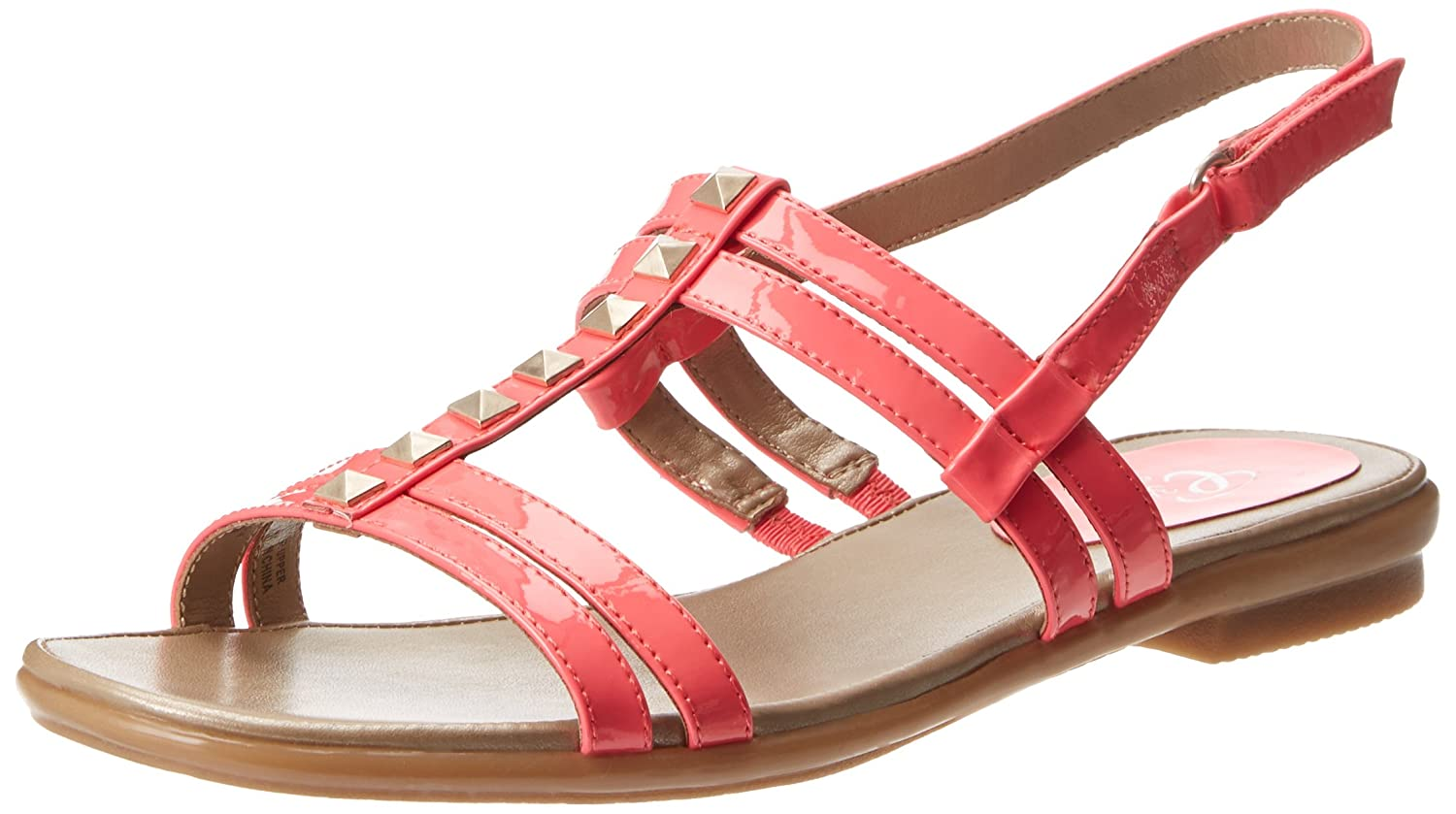 Easy Spirit Women's Karessa Gladiator Sandal B00HRIQ9Y4 7.5 B(M) US|Medium Red Patent