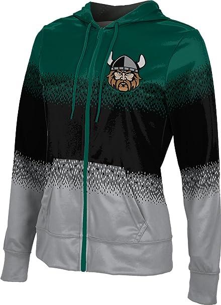 Cleveland State University Girls Zipper Hoodie Brushed School Spirit Sweatshirt