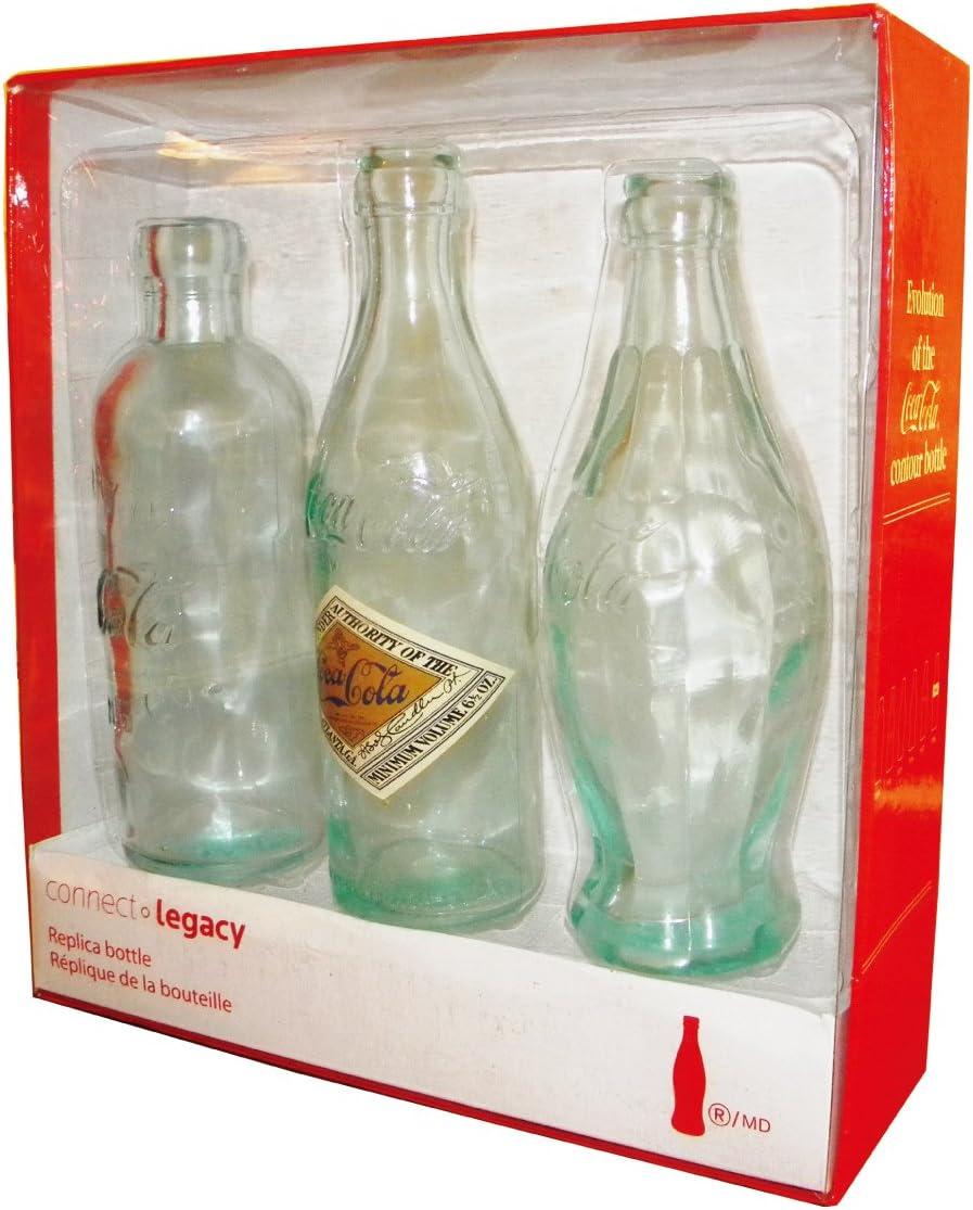 Retro Coca Cola botella de cristal Set Evolution: Amazon.es: Hogar