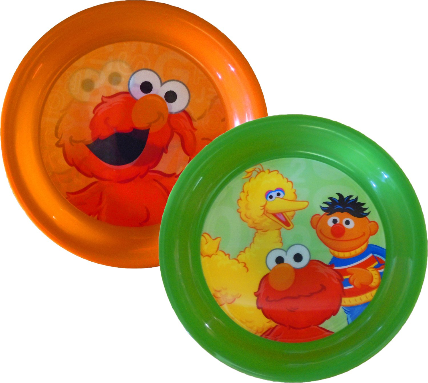 Sesame Street Fun-Meals 3D Plates Set