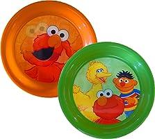 Sesame Street Fun-Meals 3D Plates Set