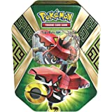 Pokemon TCG Sun & Moon Guardians Rising Collector's Tin Containing 4 Booster Packs and Featuring a Foil Tapu Bulu-GX