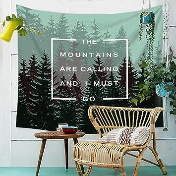 Hochwertig Farbe Wald Hängende Schlafzimmer Zimmer Bettwäsche Drapierung Tapisserie  Wand Dekoration Tapestry Hintergrund Tapete Tuch , 002
