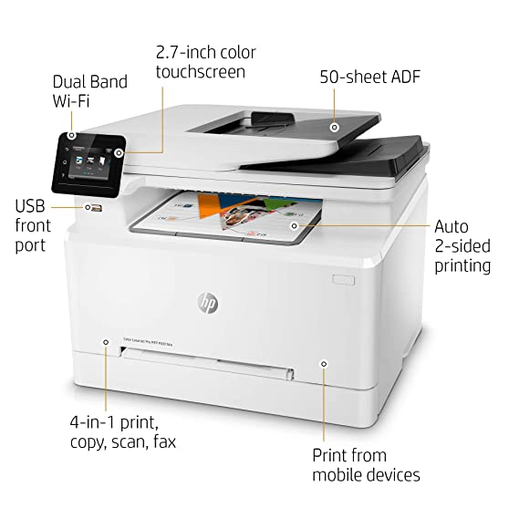 HP Color Laserjet Pro MFP M281fdw - Impresora multifunción ...
