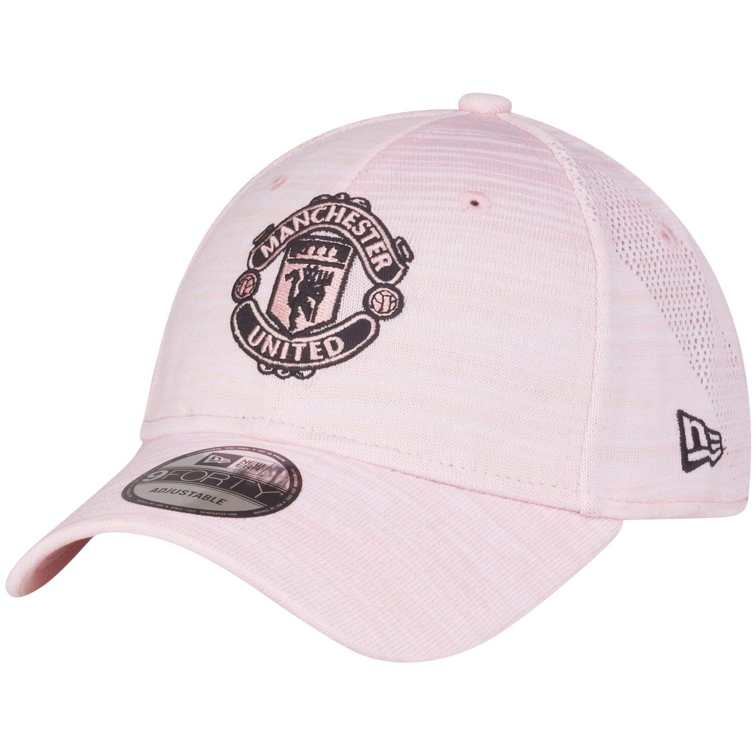 beste website nieuwe aankomst nieuwste collectie New Era Manchester United Pink Engineered 9FORTY Adjustable Hat/Cap