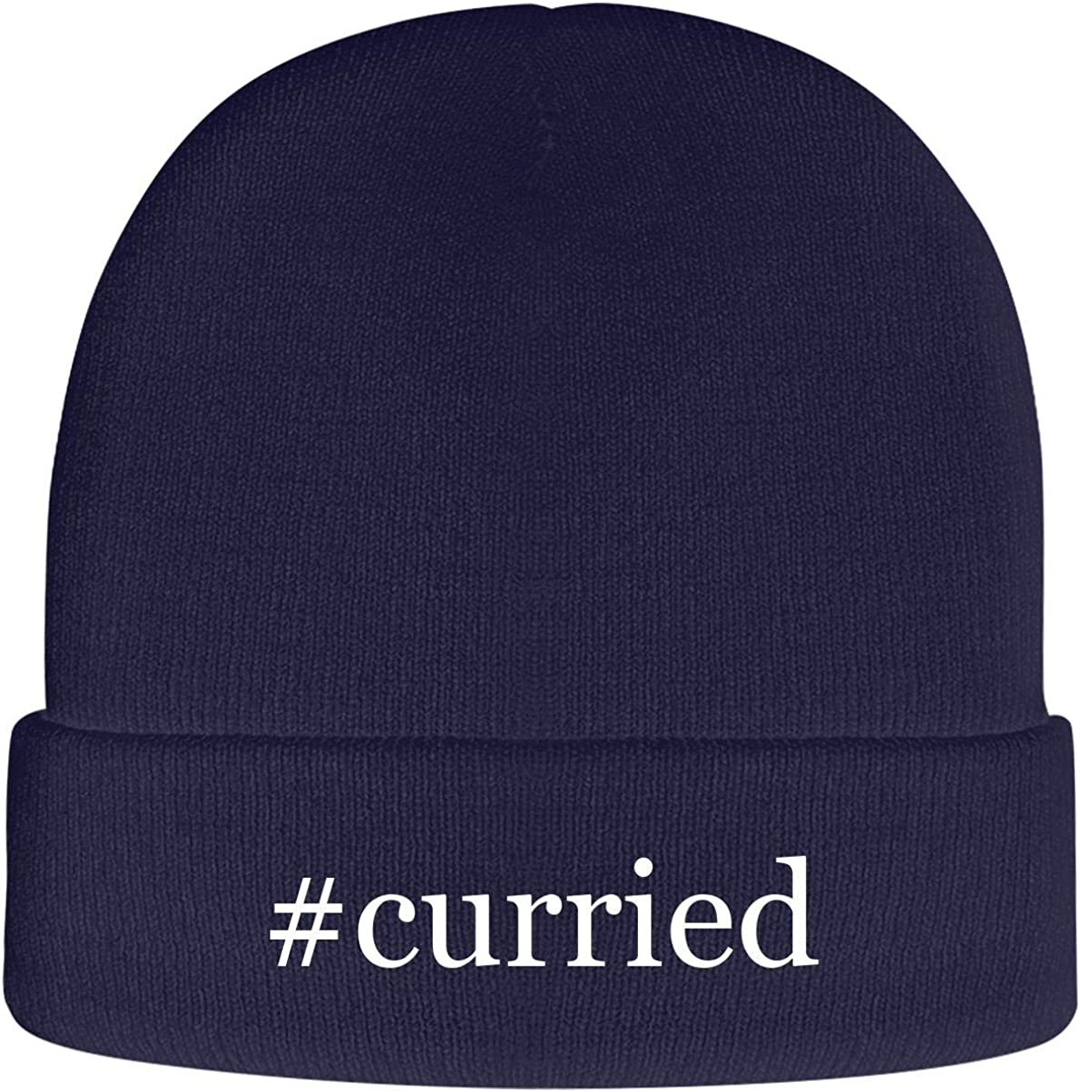 One Legging it Around #Curried - Soft Hashtag Adult Beanie Cap