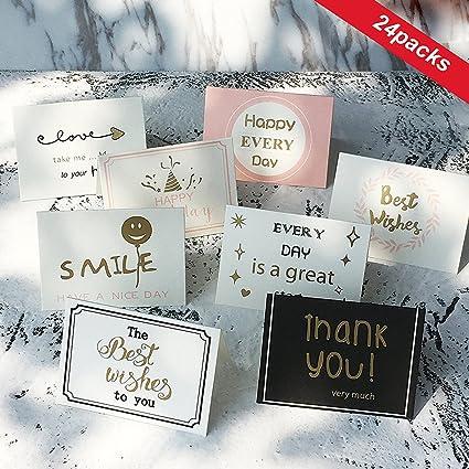 Amazon.com: Tarjetas de agradecimiento – Notas de tarjetas ...