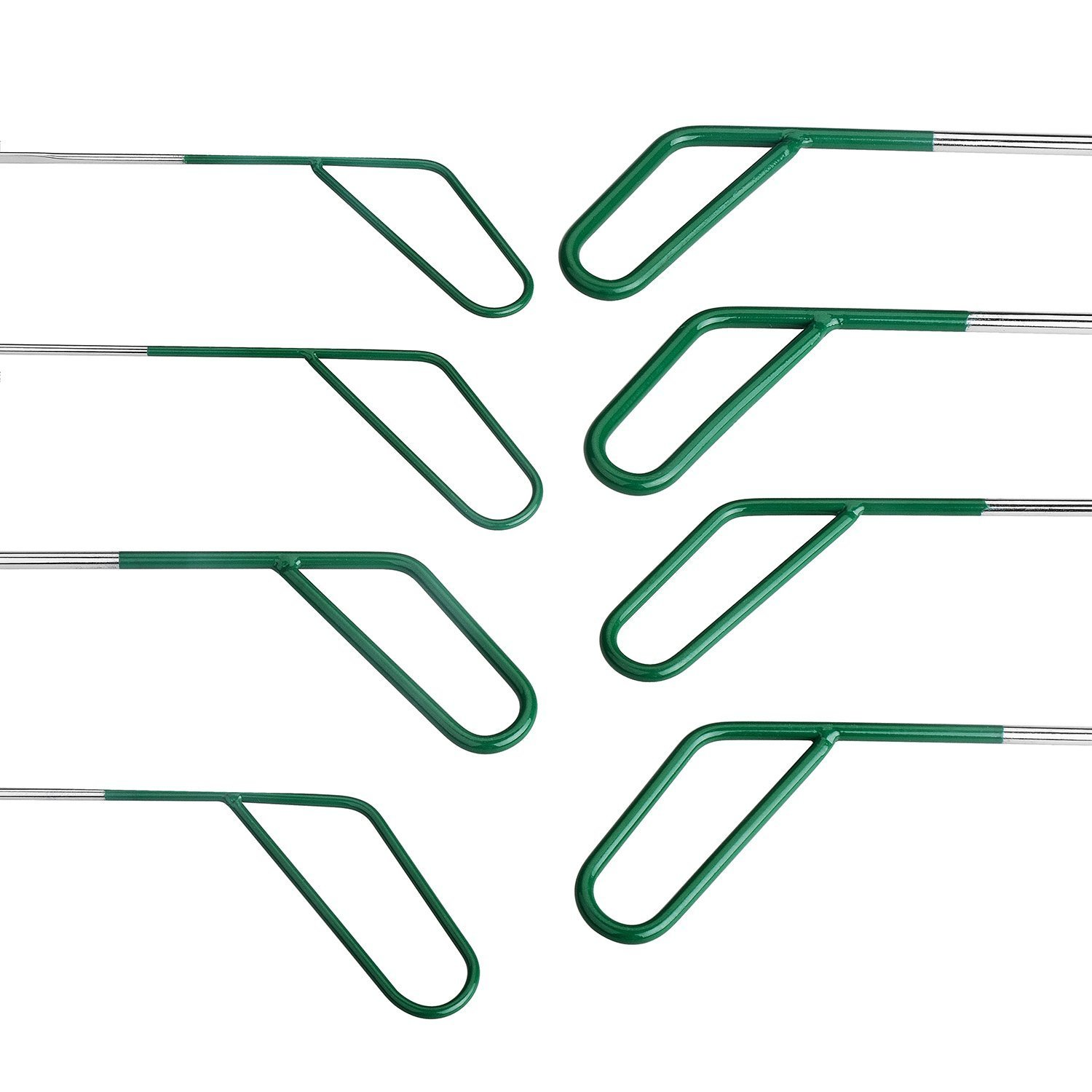 AUTOPDR Special PDR Car Body Dent Repair Removal Tools Automotive Body Dent Remover Tools Kits Set Green Stainless Steel PDR Rod Sets Hail Slide Hammer Tool Kit Set Dent Puller with Tool Bag by AUTOPDR (Image #4)