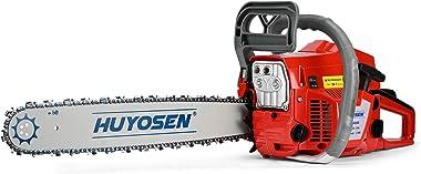 HUYOSEN 62CC 2-Cycle Gas Powered Chainsaw