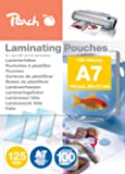 Peach PP525-05 Laminierfolien A7, 125 mic, 100 Stück