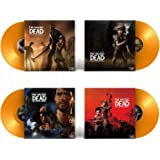 The Telltales Series The Walking Dead (Soundtrack Collection) - Exclusive Limited Edition Yellow Opaque Colored 4x Vinyl Lp B