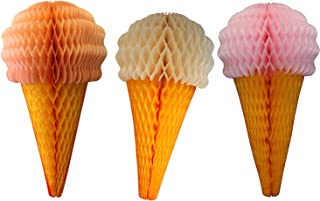 product image for 3-Pack 20 Inch Ice Cream Decorations, Pastel Mix