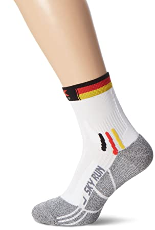 X-Socks Rodmann Calcetines de Sky Run Patriot, Germany, 35/38,