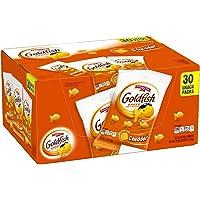 Pepperidge Farm Goldfish Cheddar Crackers, 45 oz. Multi-pack Box, 1.5 oz. Snack Packs (Pack of 30)