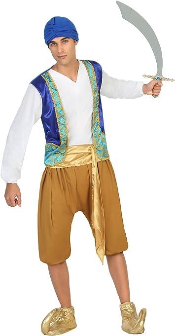 Atosa- Disfraz hombre árabe, Color dorado, M-L (17343): Amazon.es ...