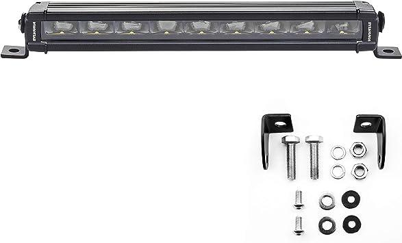 Single Row 10/'/'inch 50W Slim Led Offroad Light Bar Spot Beam Boat 4WD Truck SUV