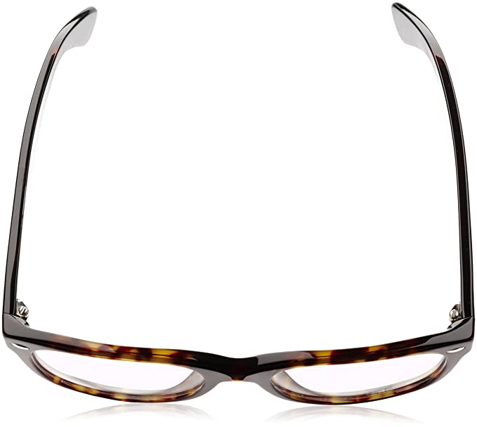 130ae20830 Amazon.com: Ray-Ban 0rx5184 No Polarization Square Prescription Eyewear  Frame, Dark Havana, 52 mm: Clothing