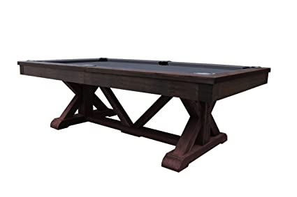 Superieur Playcraft Brazos River 8u0027 Pool Table With Weathered Brown Finish U2013 10  Colors Offered In