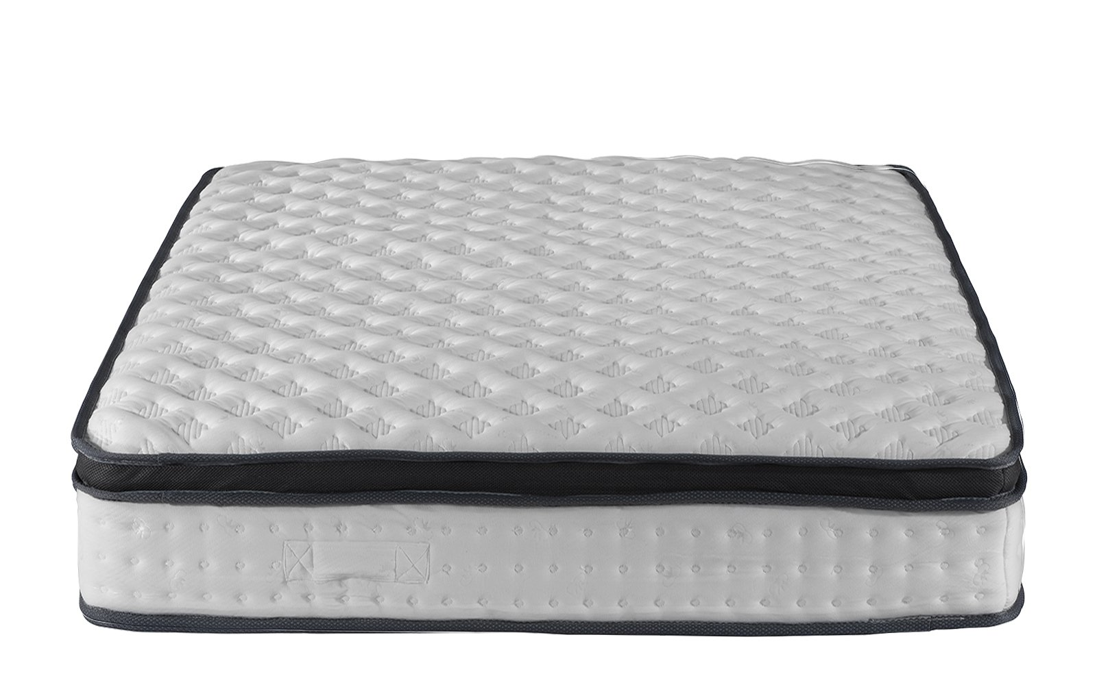 Swiss Ortho Sleep High Density 13-inch Hybrid Memory Foam and Spring Mattress with Plush Pillow Top (Queen)