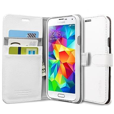 6bb3ff7c30f Spigen SGP10820 - Funda para móvil Samsung Galaxy S5 (Resistente al polvo,  Resistente a