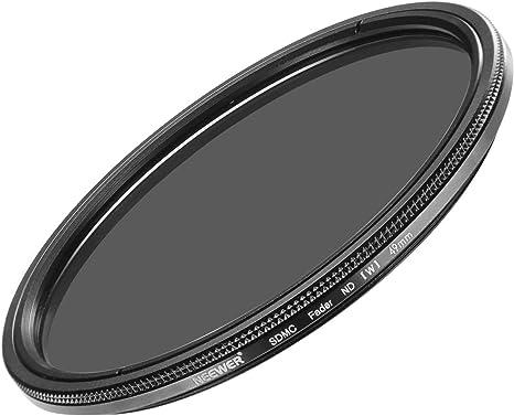 Ajustable densidad neutra filtro nd2-400 49mm Canon EF 50mm f//1.8 STM