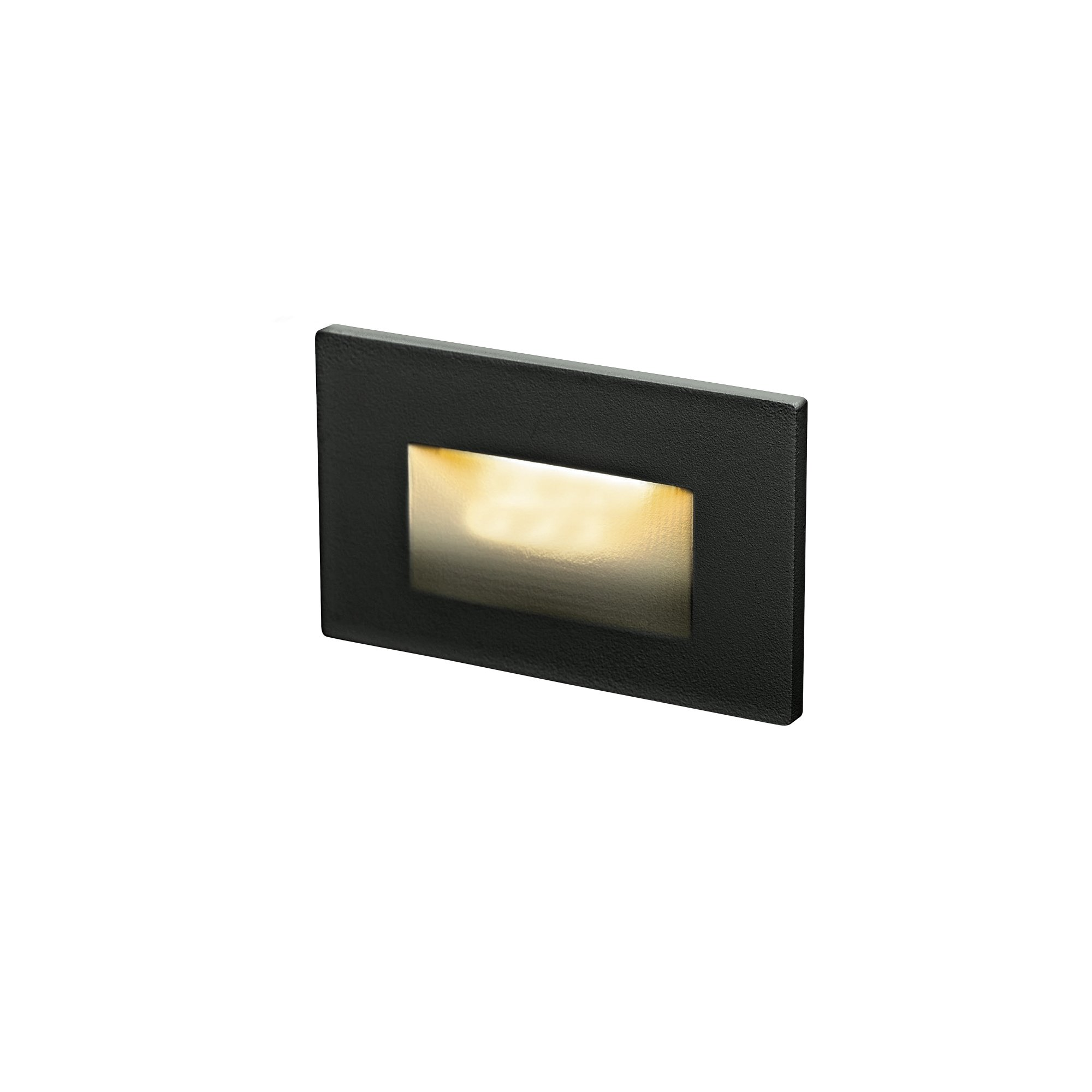 DALS Lighting LEDSTEP005D-BK 4.75'' Recessed Horizontal Indoor/Outdoor LED Step Light, Black