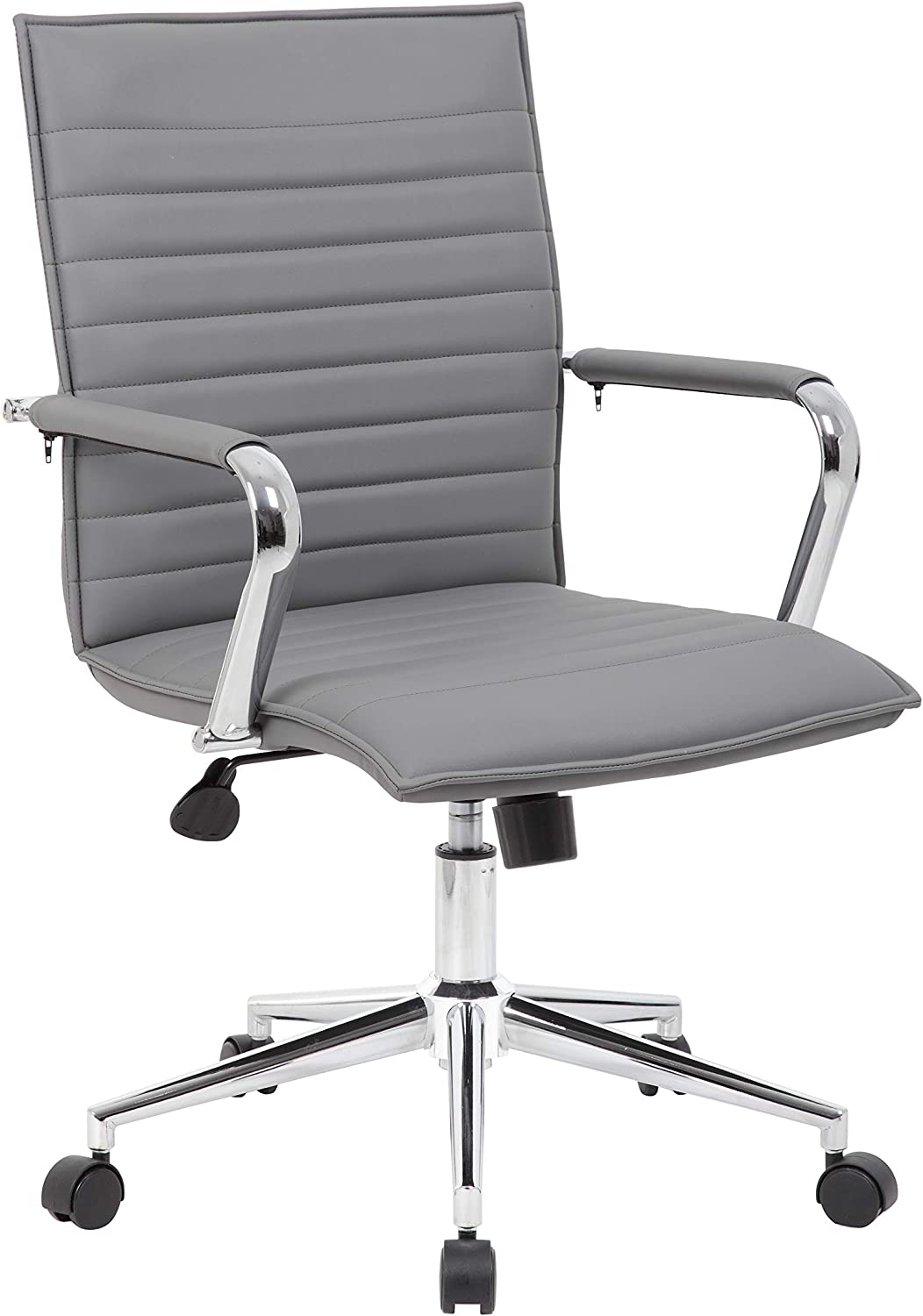 Boss Office Products Hospitality Chair, Grey