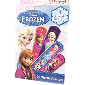 Queen Elsa Plasters - LOL, my daughter loves them.