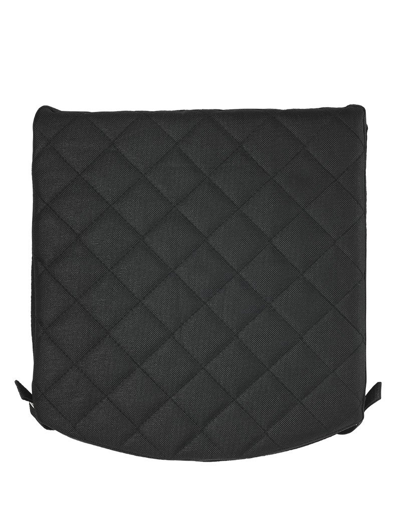 Zuca Padded Seat Cushion (Black) for any Sport or Pro Zuca Frame by ZUCA
