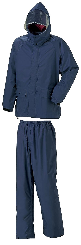 スミクラ フィールドスーツ 全6サイズ 上下スーツ ネイビー M 防水 収納袋付き フード着脱式 [正規代理店品] B019T21QVQMedium