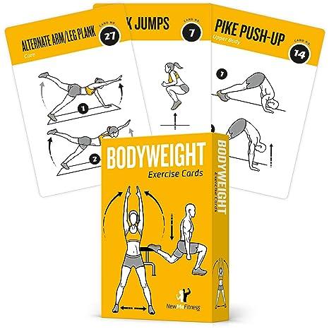 Amazon EXERCISE CARDS BODYWEIGHT