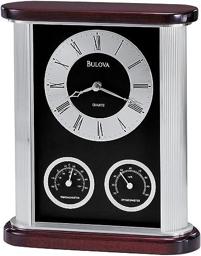 Bulova B7590 Belvedere Executive Clock